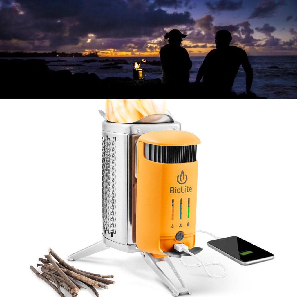 Turn Fire into Electricity with BioLite CampStove 2