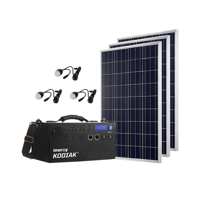 inergy Silver Kodiak Kit solar power -Silver-Kit