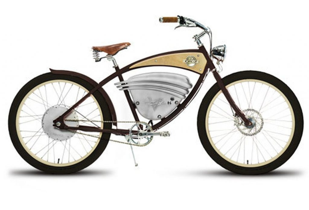 E-Cruz Vintage Electric Bike