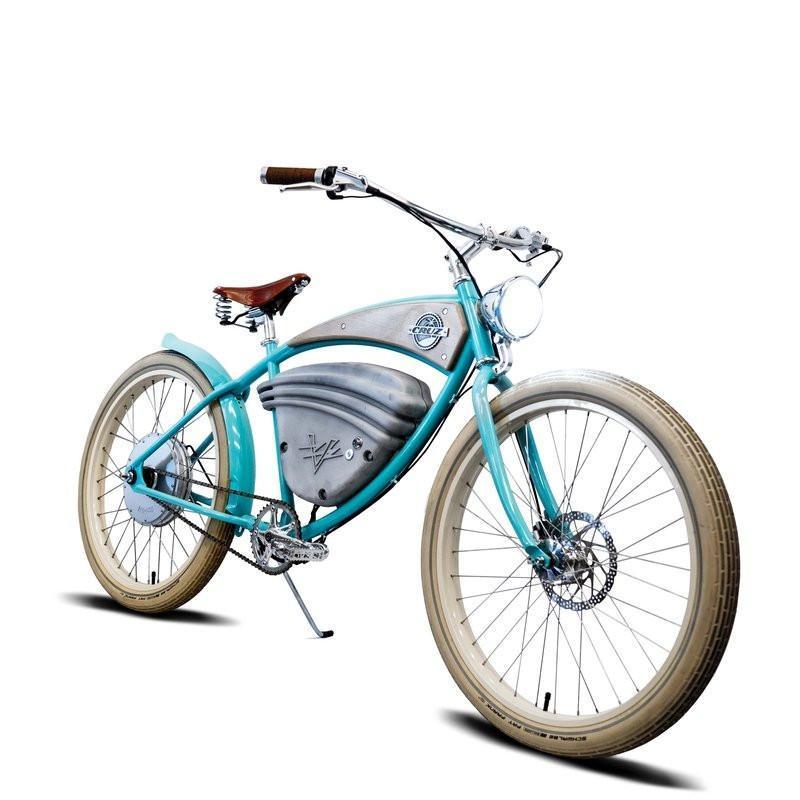 E-Cruz Vintage Electric Bike