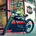 The Café motorcycle electric bike